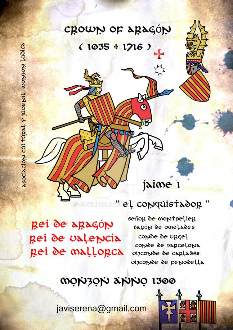 jaime primero el conquistador leyendas 1300 by javidivx