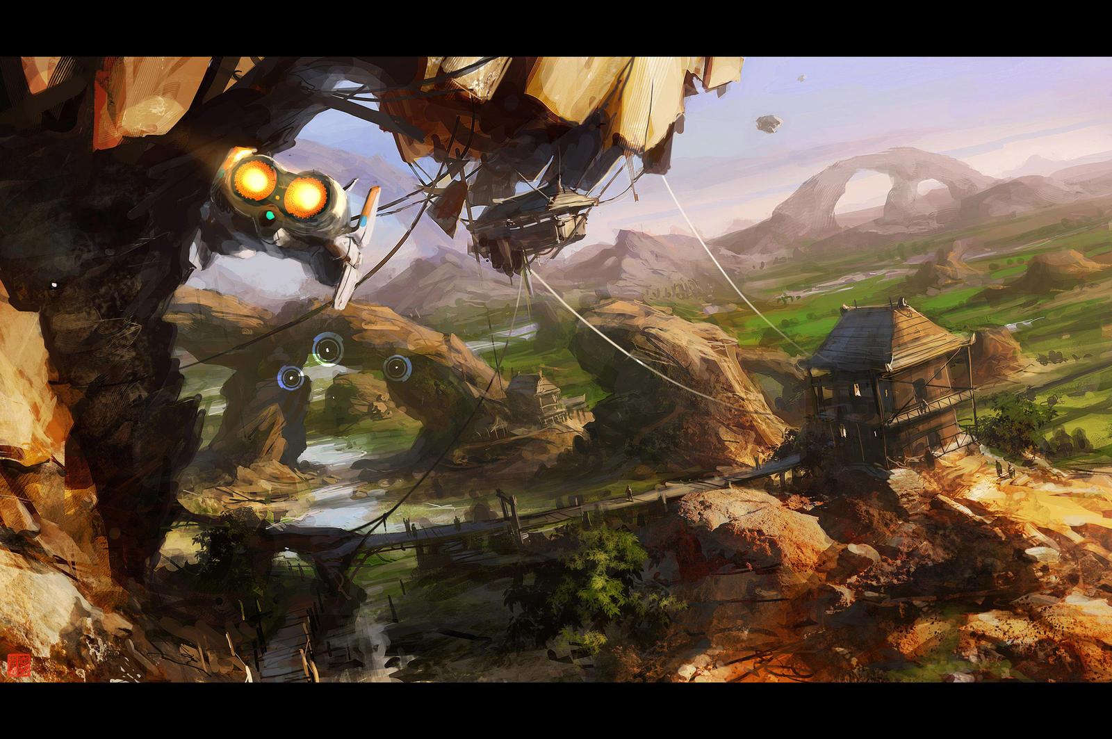 ThaiFlight by barontieri