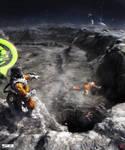 Exodyssey: Moon floating by barontieri