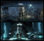 TRON: Legacy - Flynn's arcade