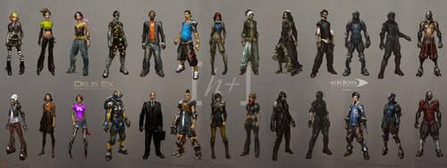 Deus Ex HR - Characters