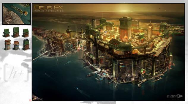 Deus Ex HR - Hengsha