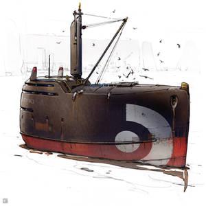 Fishing boat...