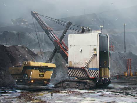 Mining Hovertruck
