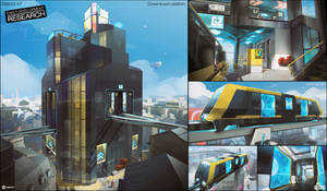 HYPER SCAPE - Downtown Station