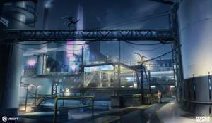 HYPER SCAPE - Industrial zone 2