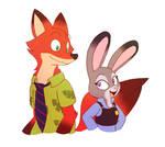 Dumb Fox and Sly Bunny