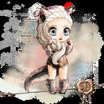 Ysindra Chibi - Wolf Version