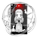 Game of Thrones Tarot: Daenerys Targaryen by Chibivi-Linearts