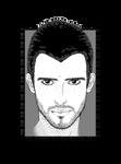 Melio Portrait - Lines by Chibivi-Linearts