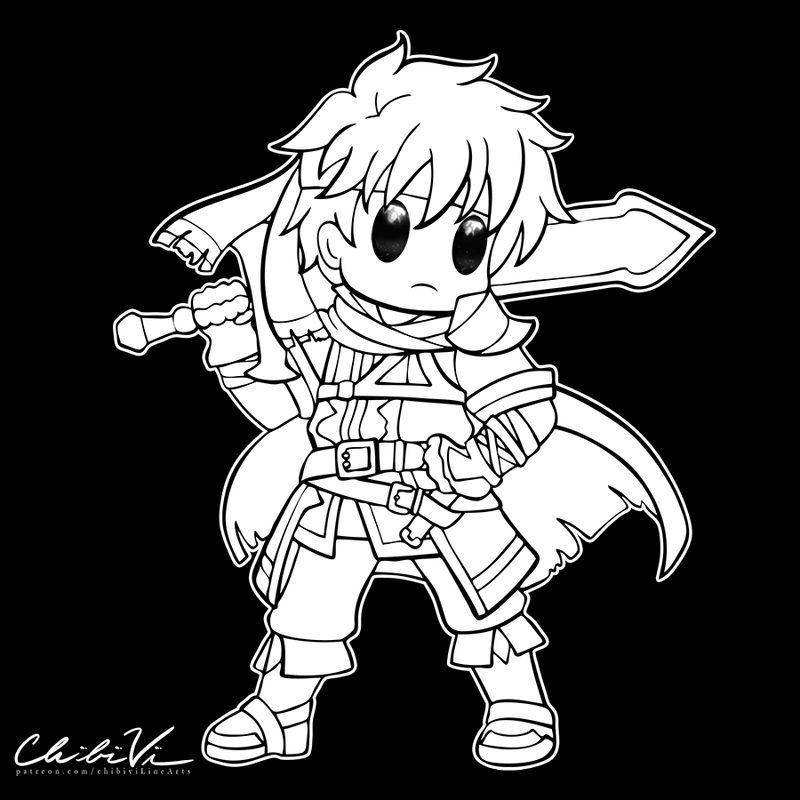 Fire Emblem Chibi   Ike