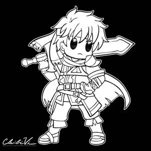 Fire Emblem Chibi | Ike