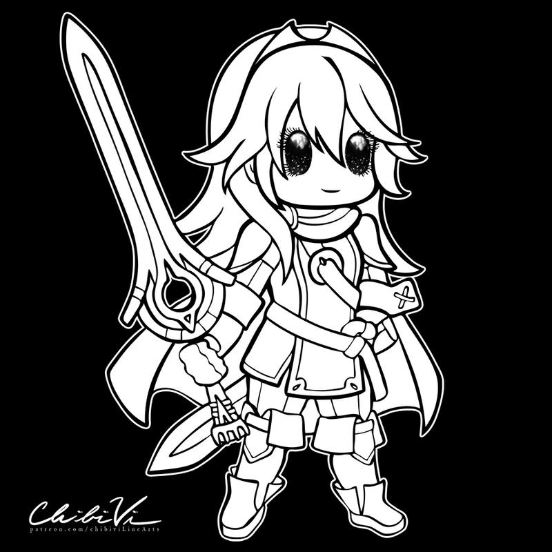 Fire Emblem Chibi | Lucina