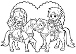 Fire Emblem Valentine Lilina + Roy