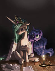 Candlelight by NadnerbD