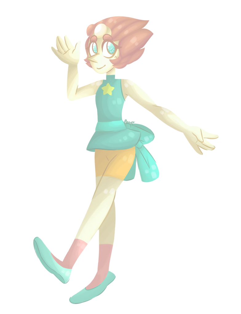shit u rite this was p fun to draw pearl from steven universe