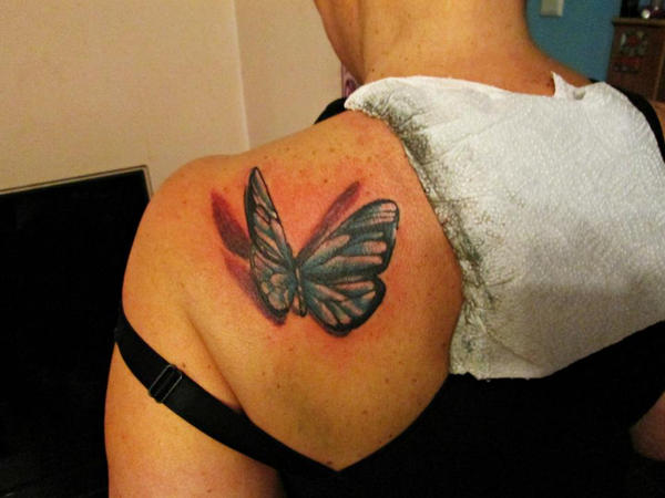 buterfly by kama-tattoo
