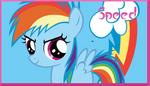 Filly Rainbow Dash signature