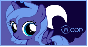 Filly Princess Luna signature