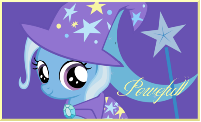 Filly Trixie Signature by AliceHumanSacrifice0
