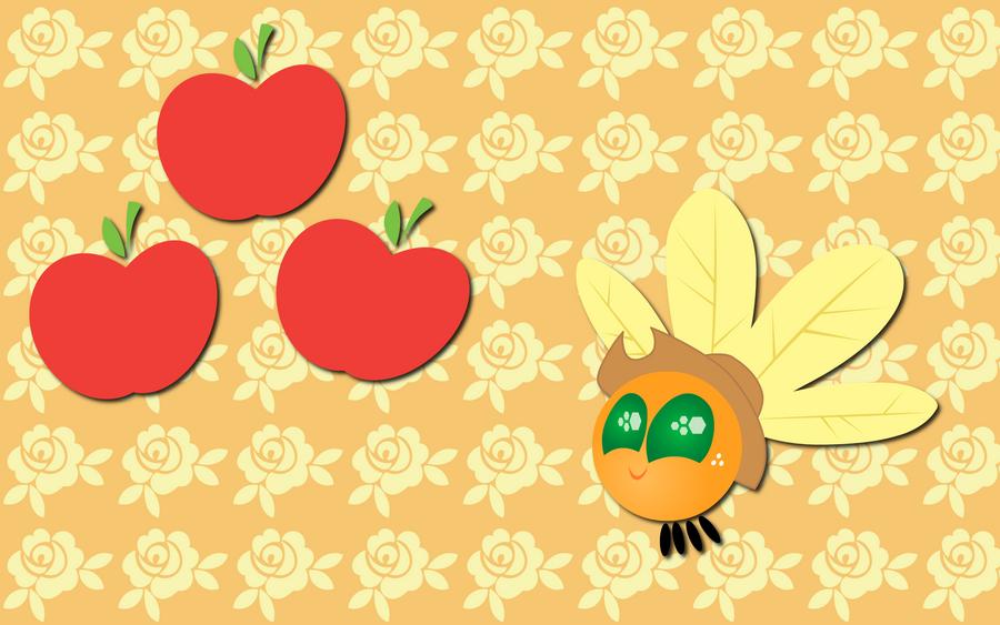 Applejack Parasprite wallpaper by AliceHumanSacrifice0