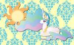 Princess Celestia wall paper5