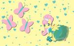 Fluttershy wall paper 6