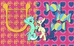 Lyra X Bon Bon wallpaper 2
