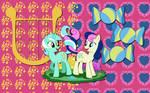 Lyra X Bon Bon wallpaper 3