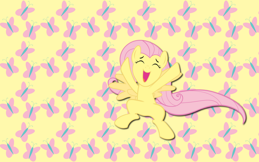 Cutiemark Fluttershy wallpaper by AliceHumanSacrifice0