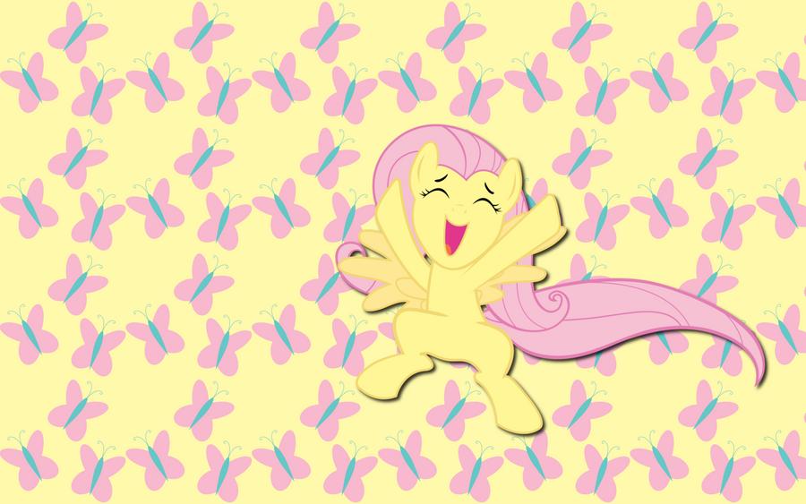 Cutiemark Fluttershy wallpaper by AliceHumanSacrifice0