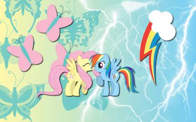 Flutter Dash wallpaper by AliceHumanSacrifice0