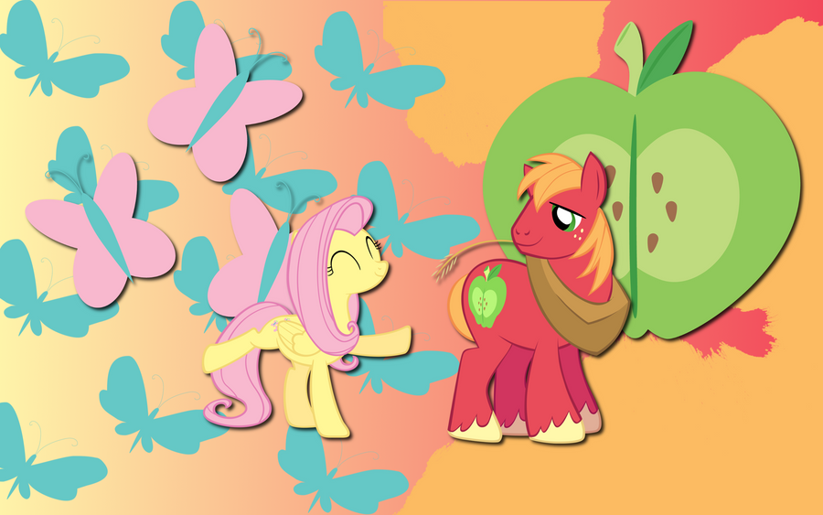 Flutter Mac wallpaper by AliceHumanSacrifice0