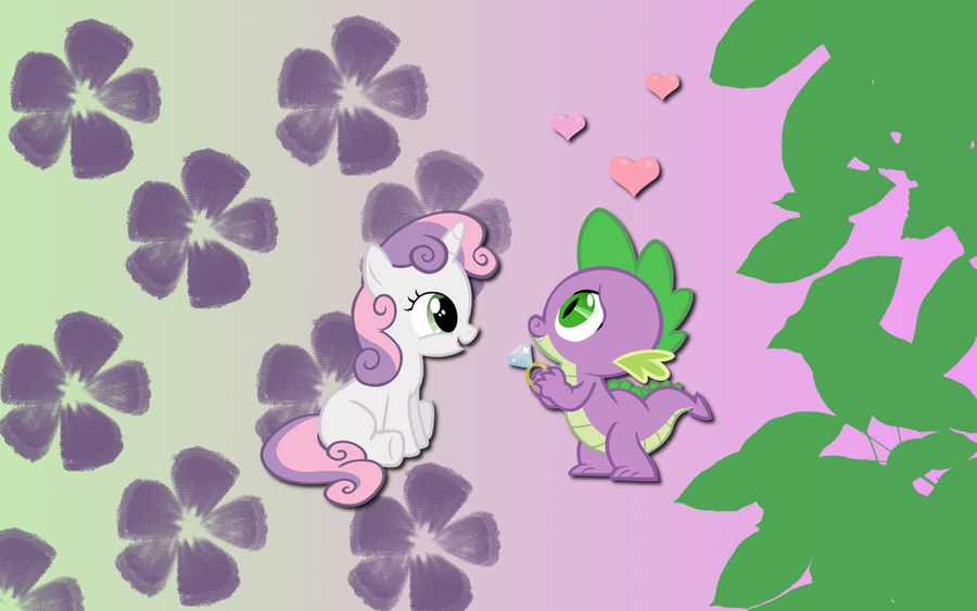 Sweetie Spike wallpaper by AliceHumanSacrifice0