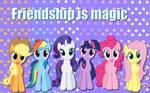 Friendship is magic wallpaper