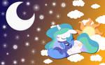 Luna and Celestia wallpaper 4
