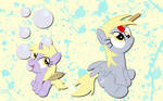 Derpy and Dinky wallpaper 3