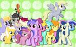 Background ponies WP