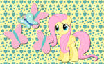 Fluttershy and Butterfly WP