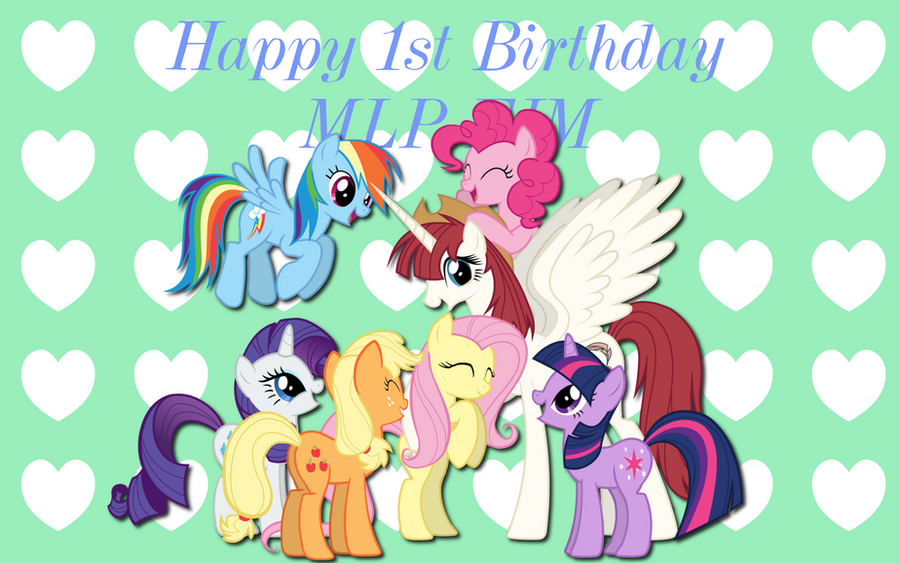 MLP Birthday Wishes WP by AliceHumanSacrifice0Flower Wishes Mlp