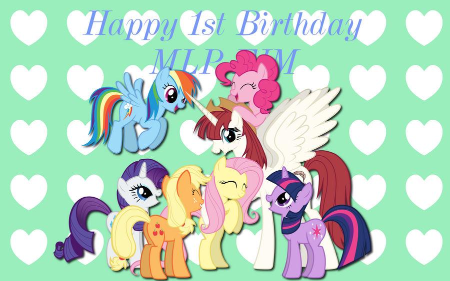 MLP Birthday Wishes WP