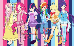 Human Ponies WP by AliceHumanSacrifice0