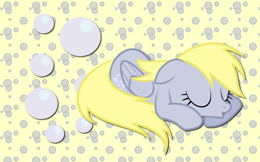 sleeping Derpy Hooves WP by AliceHumanSacrifice0