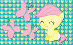 Baby Fluttershy WP