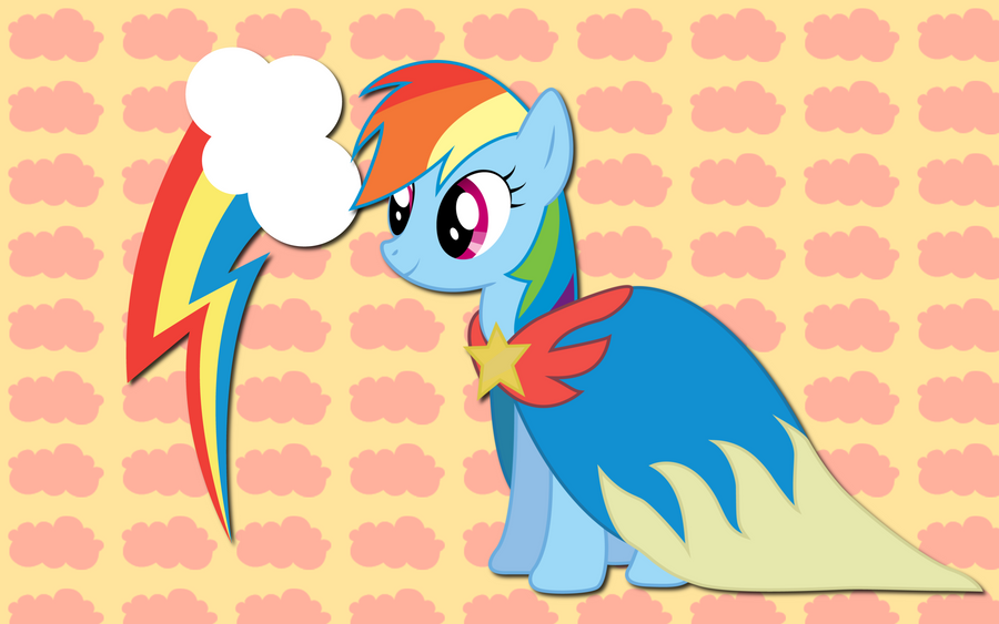 Rainbow Dash Cloak WP by AliceHumanSacrifice0