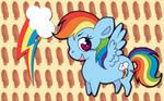 Chibi Rainbow Dash WP