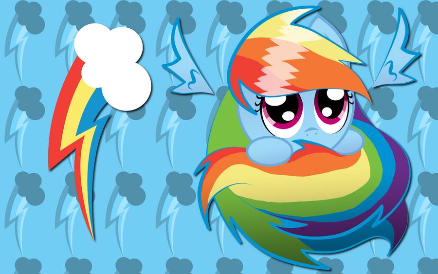 rainbow dash sphere background - photo #3