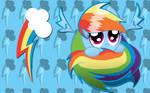 Rainbow Dash Sphere WP