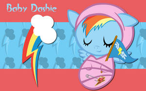 New Born Rainbow Dash WP by AliceHumanSacrifice0