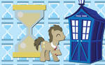 Dr Whooves and Tardis WP